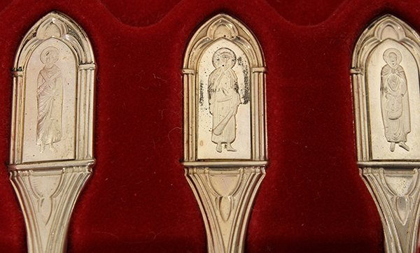 The Franklin Mint Collection of Apostle Spoons - 4