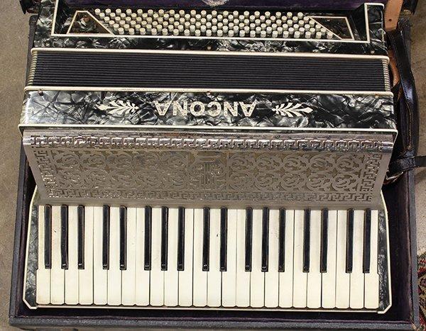 Cased Ancona accordion