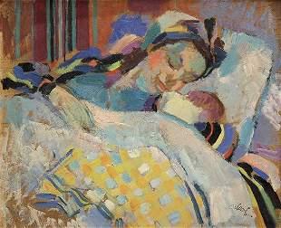 Painting, Antoni Clavé, La Jeune Maman, 1942