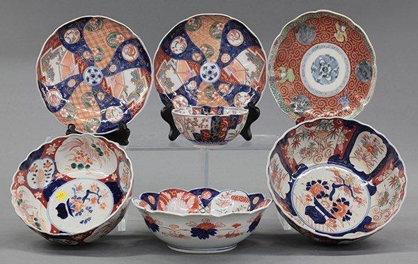 Japanese Imari/Kutani Style Porcelain