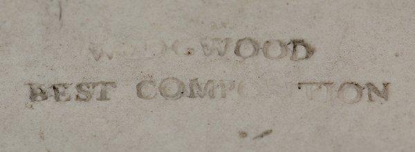 Wedgwood pharmacy mortar and pestle, 19th century - 3