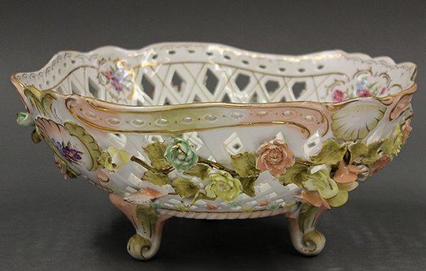 Continental porcelain bowl