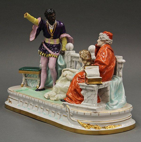 German porcelain figural group - 2