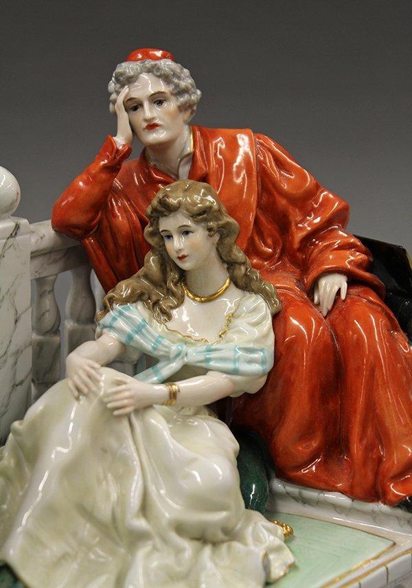 German porcelain figural group - 6