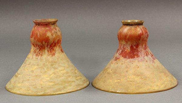 Pair of Daum Nancy lamp shades