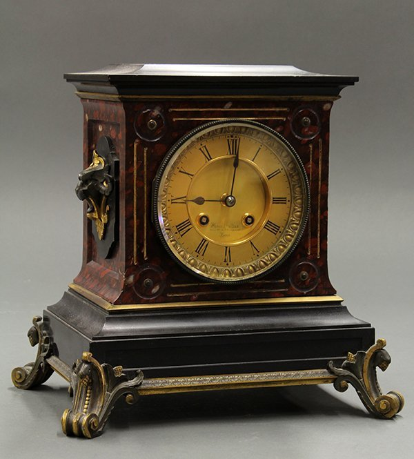 French Miroy Freres & Fils mantle clock