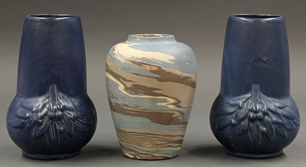 Arts and Crafts vases