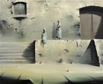 Painting, Robert Watson, Duo, 1973