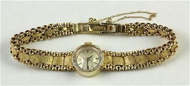 Lady's vintage Rolex yellow gold dress wristwatch