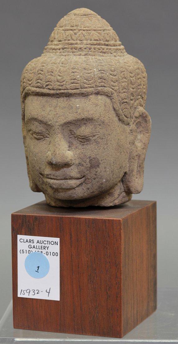 Khmer-style Stone Head