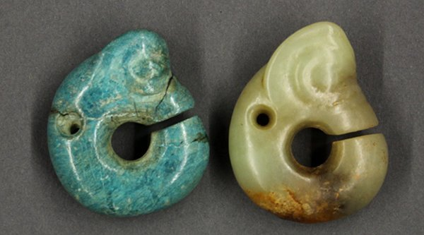Hongshan-style Chinese Stone Toggles