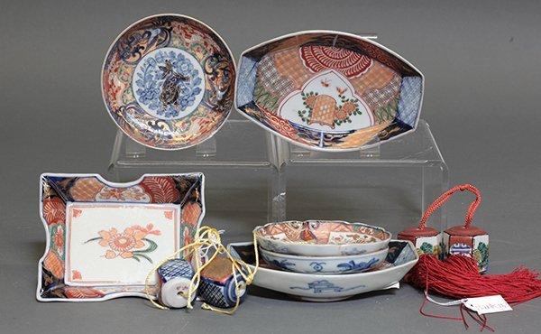 Japanese Imari Porcelain Dishes