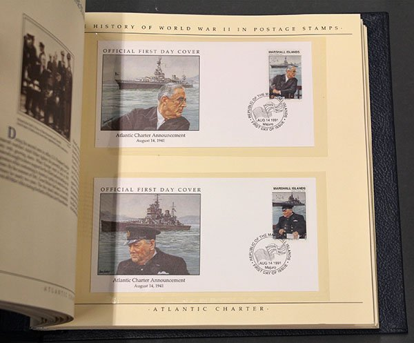 The History of World War II in Postage Stamps - 5