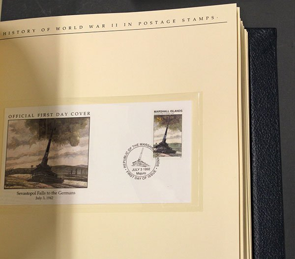 The History of World War II in Postage Stamps - 8
