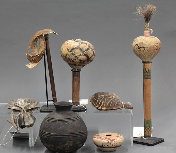 Native American ceremonial objects