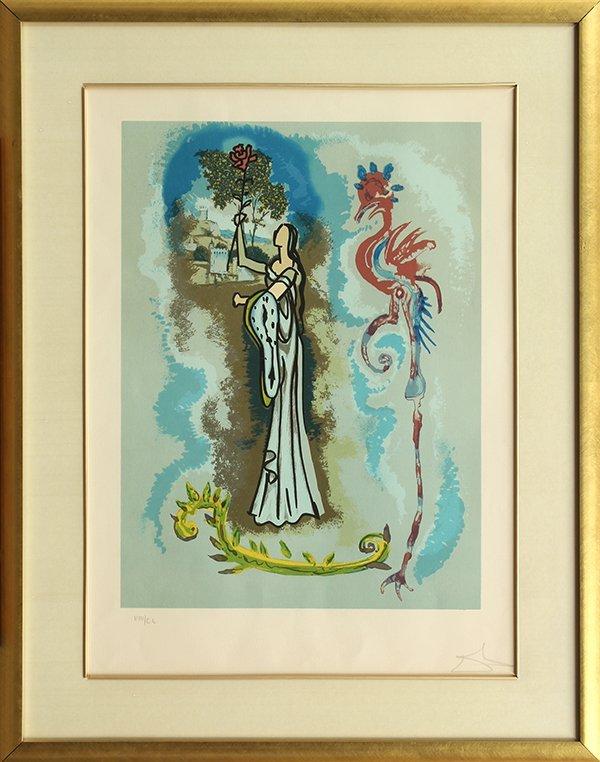 Prints, Salvador Dali, Ivanhoe Suite
