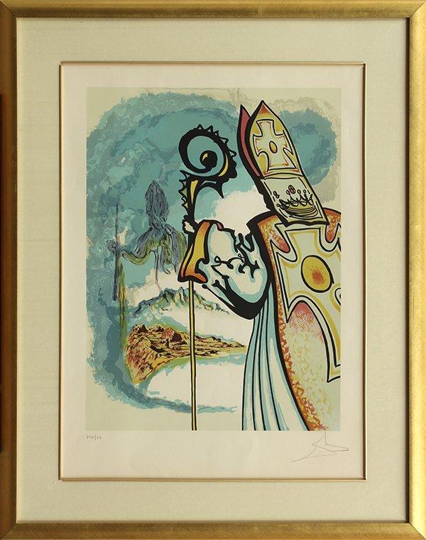 Prints, Salvador Dali, Ivanhoe Suite - 3