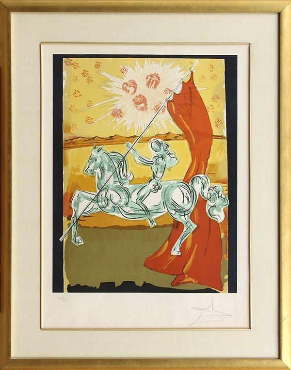 Prints, Salvador Dali, Ivanhoe Suite - 4