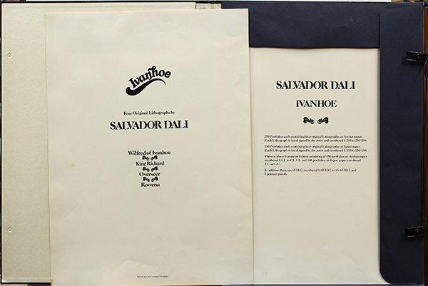 Prints, Salvador Dali, Ivanhoe Suite - 7