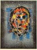 Print Hans Gustav Burkhardt Abstract Face