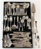 """Towle """"Charlemagne"""" pattern flatware service"""