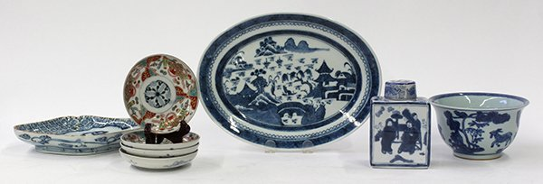 Chinese-style Blue-and-White Porcelain