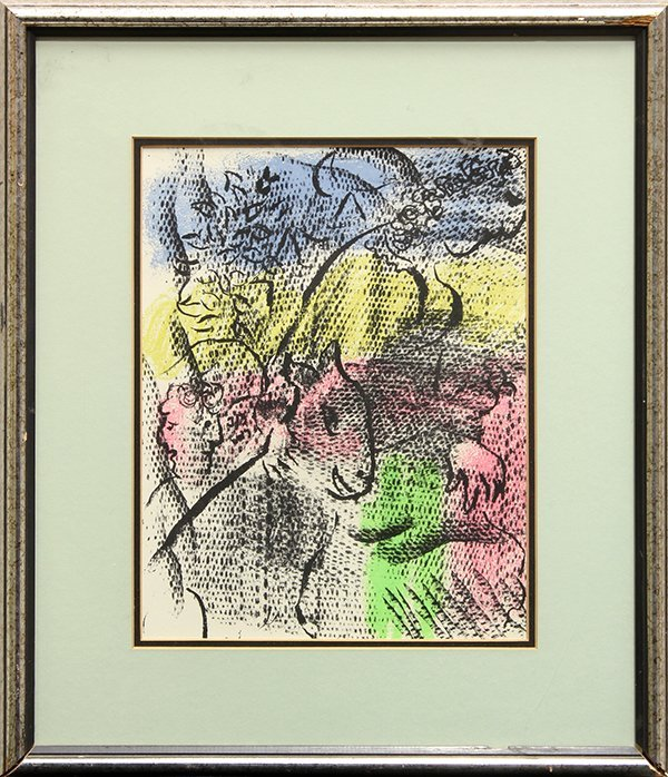 Print, After Marc Chagall, 20th century