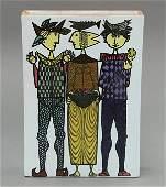 Stig Lindberg ceramic vase for Gustavsberg