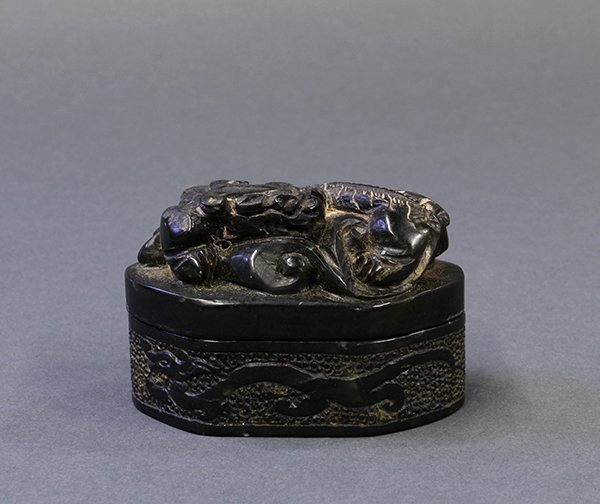 Chinese Green Stone Seals/Box