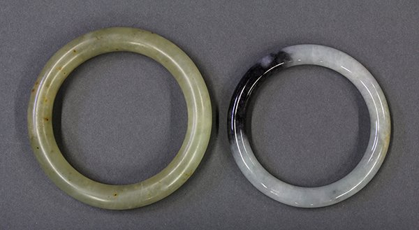 Two Chinese Bangle Bracelets