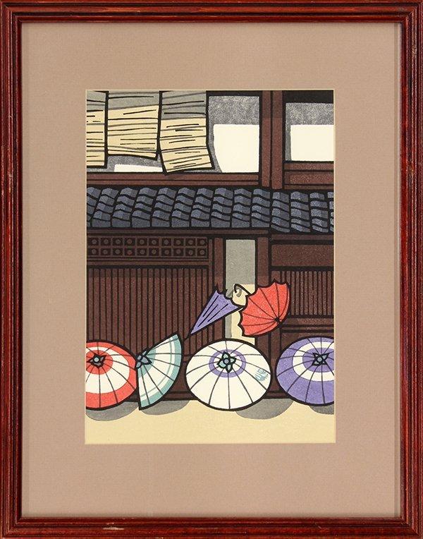 Japanese Modern Woodblock Prints Nishijima