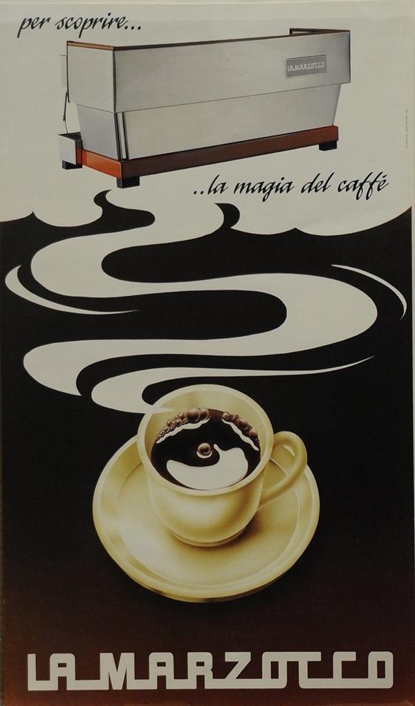 Vintage Illy Cafe Poster - 2