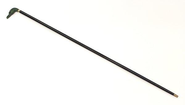 Jade walking stick