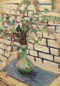 Painting, Joseph Raphael, Still Life with Green Vase