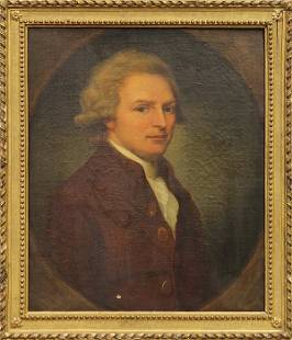 Painting, American School (18th century), Portrait of a
