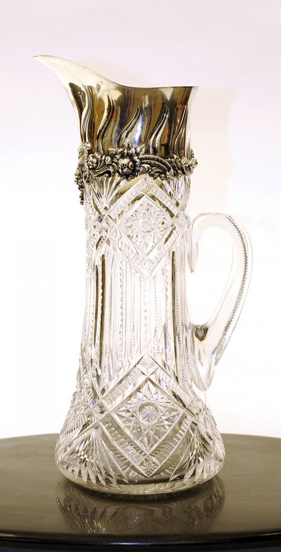 American Tiffany & Company sterling silver and cut
