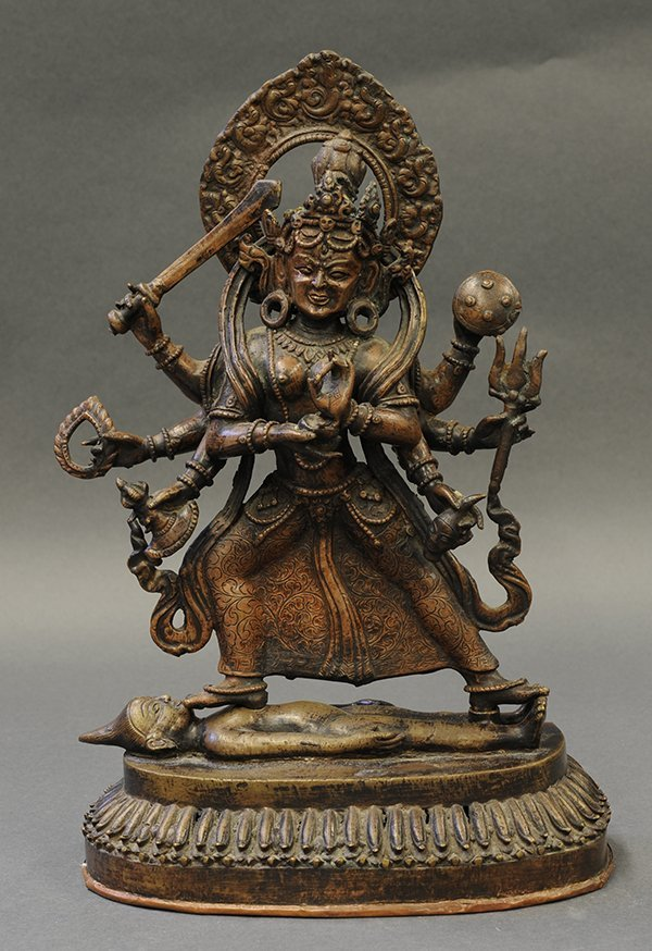 Himalayan Copper Alloy Buddhist Sculpture