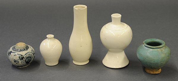 Selection of Chinese Small Vases/Jarlets