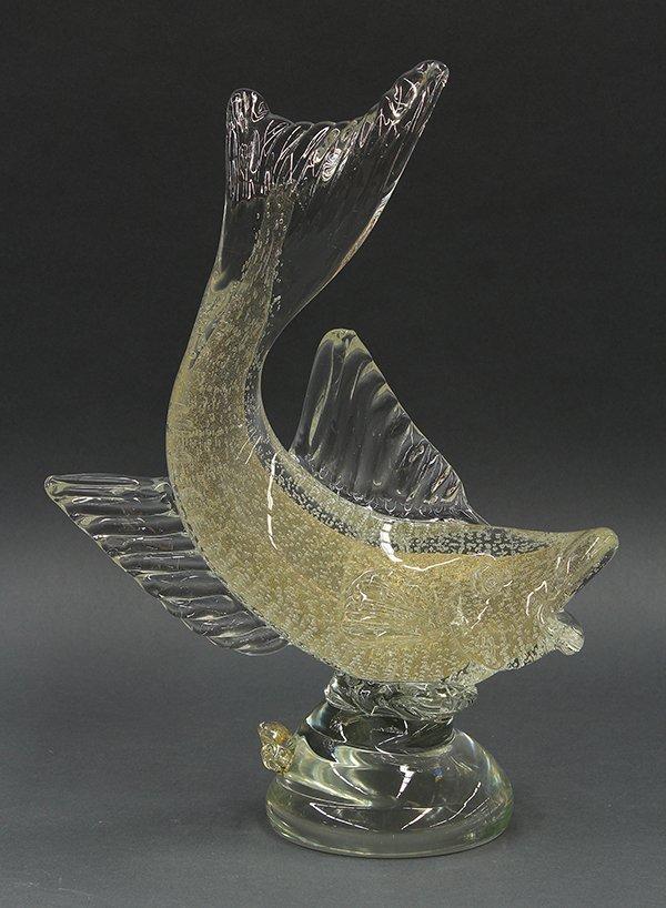 Murano art glass figural sculpture