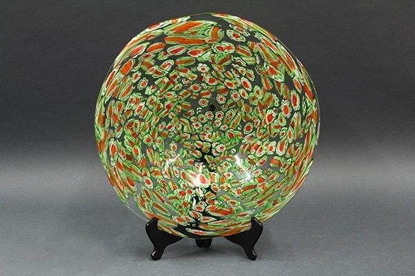 Murano art glass charger