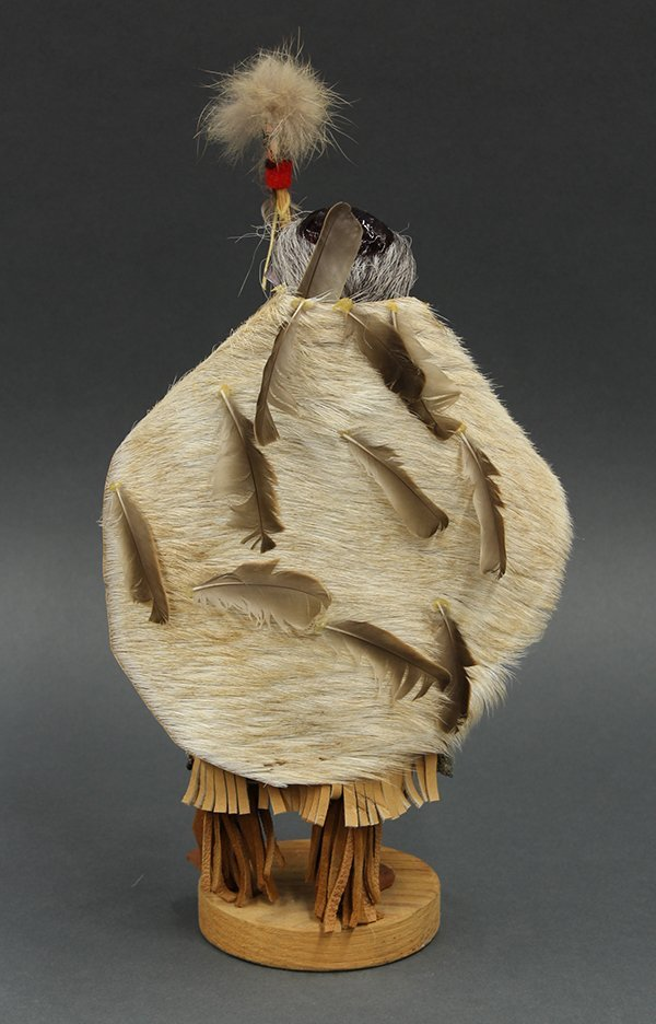 Bella Coola tribe, authentic hand crafted Native - 3