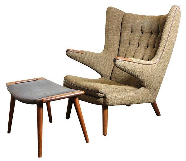 Danish Hans Wegner Papa Bear chair