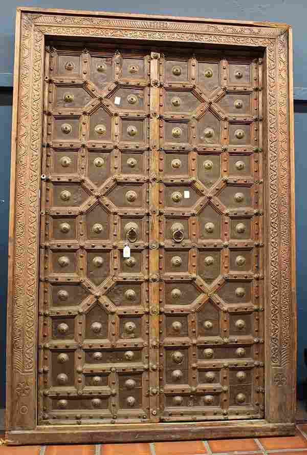 East Indian entry doors