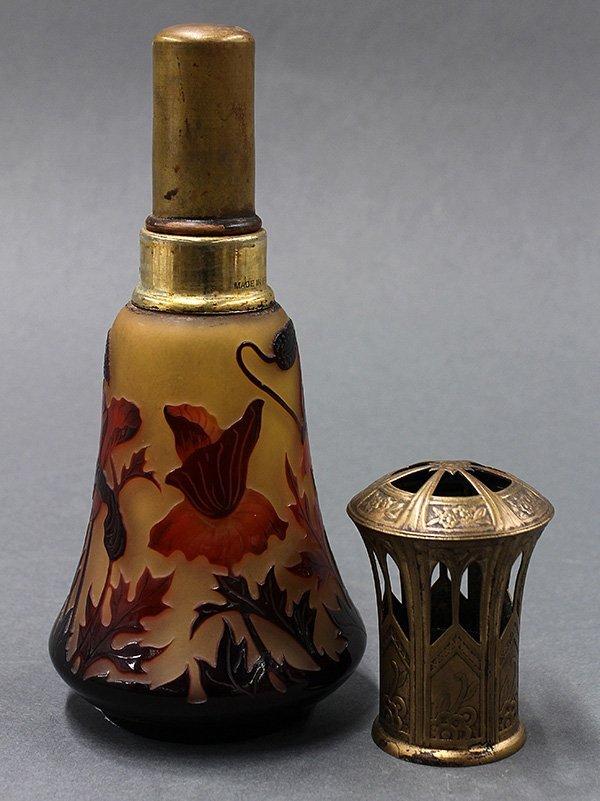 D'Argental cameo glass 'lampe berger' - 2