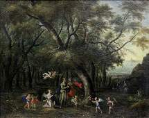 Painting, Attributed to Gilliam Forchondt the Younger