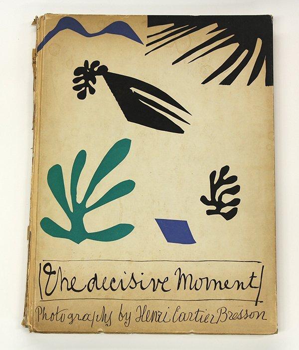 Book, Henri Cartier-Bresson, The Decisive Moment, 1952