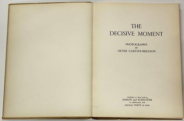 Book, Henri Cartier-Bresson, The Decisive Moment, 1952 - 2