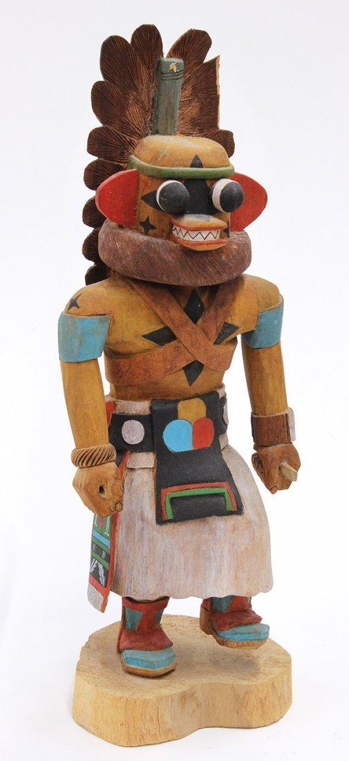 Hopi 'A. Hote' kachina doll carved by Brian Naha