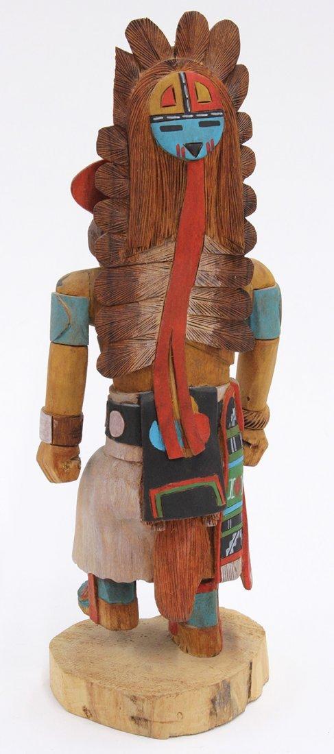 Hopi 'A. Hote' kachina doll carved by Brian Naha - 2