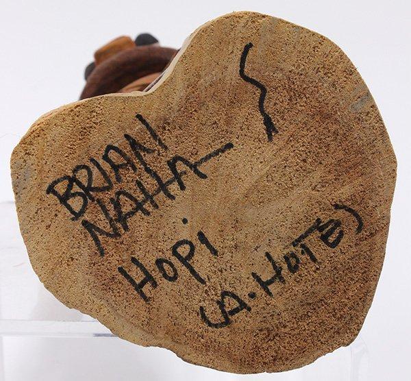 Hopi 'A. Hote' kachina doll carved by Brian Naha - 3
